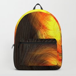 Concept abstract : Hot Fingerprint Backpack