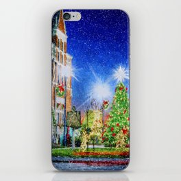 Home Town Christmas iPhone Skin