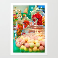 The Candy Store Art Print