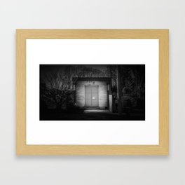 The Christchurch Electricity Substation Project XIV Framed Art Print