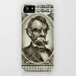 Zombie Lincoln iPhone Case