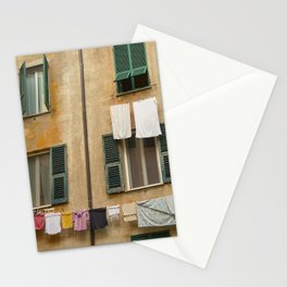 Hanging laundry Stationery Cards