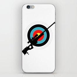 Target Shooting iPhone Skin