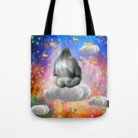 gorilla Tote Bags featuring Gorilla by haroulita