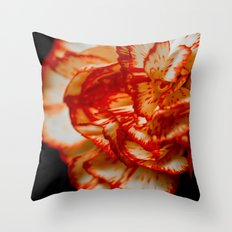 Floating on Black Throw Pillow