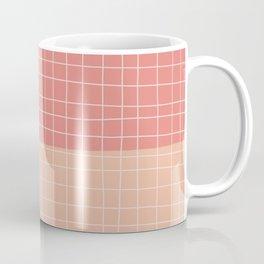 Peachy Stripes Coffee Mug