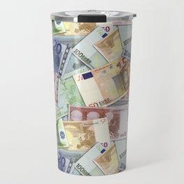 Art of the euro money Travel Mug