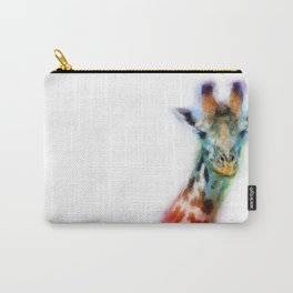 Color of a Giraffe Carry-All Pouch