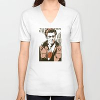jay fleck V-neck T-shirts featuring Jay by Shop 5