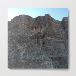 landslide Metal Print