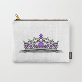 Purple Tiara Carry-All Pouch