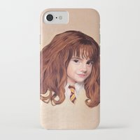 hermione iPhone & iPod Cases featuring Hermione by Shannon Forringer