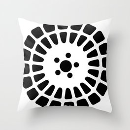 Delta Integrale Throw Pillow