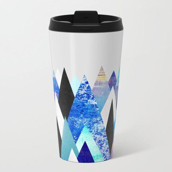 Blue Peaks Metal Travel Mug