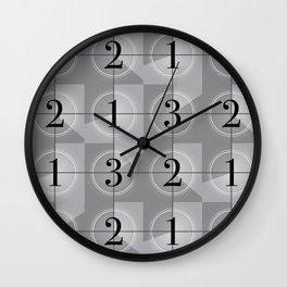321 Cinema // Old Film Countdown Wall Clock