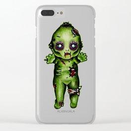 Zombie Kewpie Clear iPhone Case