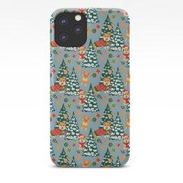 Merry Corgmess iPhone Case