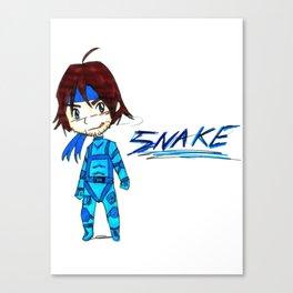 MGS - Snake Canvas Print