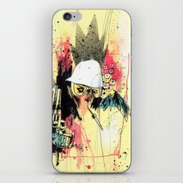 Pure Gonzo iPhone Skin