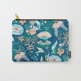 Magical Ocean Garden Carry-All Pouch