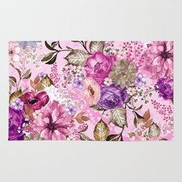 Summer Floral Pattern V Rug