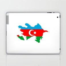 Azerbaijan flag map Laptop & iPad Skin