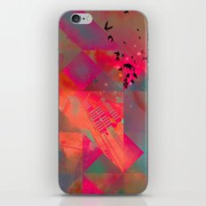 twtyl flyyt iPhone & iPod Skin