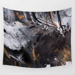 Something Completely Unlike Marble Wall Tapestry