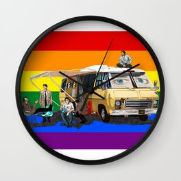 Pride GISHBUS Wall Clock