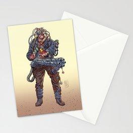 Cyborg Stationery Cards