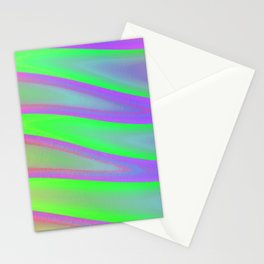 Colors swimming on grey Stationery Cards