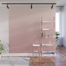 FREAK HEAT - Minimal Plain Soft Mood Color Blend Prints Wall Mural