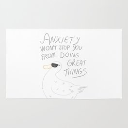Anxiety Won't Stop You Rug