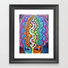 The Verge of Realization Framed Art Print