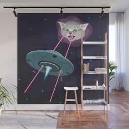 A Cat Named Curiosity Wall Mural