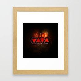 "Vaca - MP: ""Vaca - Era das Cordas"" Framed Art Print"