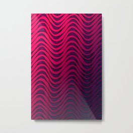 Pulsation Metal Print