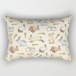 Rabbits Rectangular Pillow