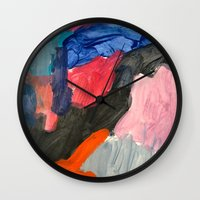 sound Wall Clocks featuring Sound by Lauren Packard