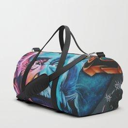 Einstein graffiti Duffle Bag