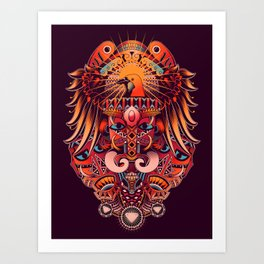 The Beauty of Papua Art Print