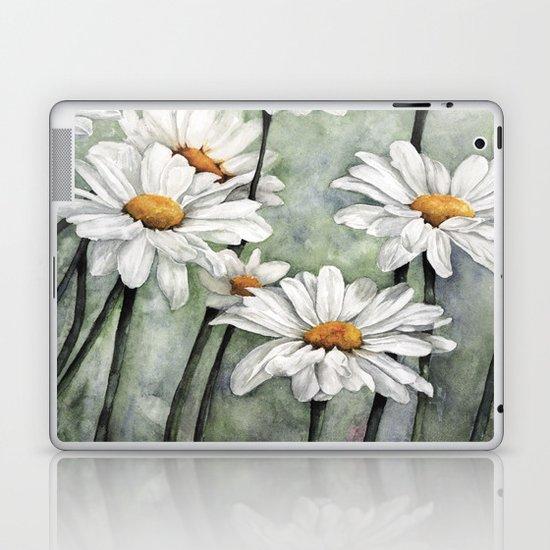 Karen's Daisies Laptop & iPad Skin