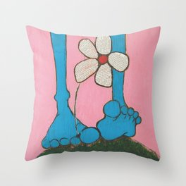 Footloose and Fancy Free Throw Pillow
