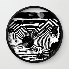 """Reflektor"" by Steven Fiche Wall Clock"