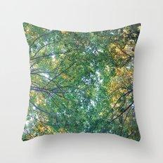 forest 013 Throw Pillow