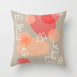 Denali Preserves Throw Pillow