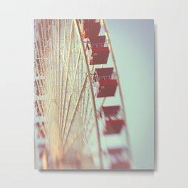 Ferris Wheel Adventure Metal Print
