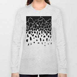 Black Fragments invert Long Sleeve T-shirt