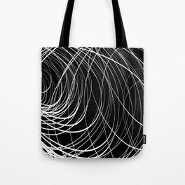 B&W Compex Swirl Tote Bag