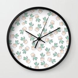 Cactus #1 Wall Clock